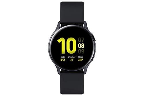 Samsung Galaxy Watch Active 2 - Smartwatch de Aluminio, 44mm, color Negro, Bluetooth [Versión española] (Reacondicionado)