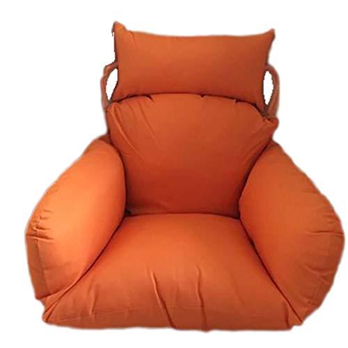 JY&WIN waterdichte schommelstoel kussen, dikker opknoping ei hangstoel pads Nest zachte pluizige ademende stoel pads voor tuin