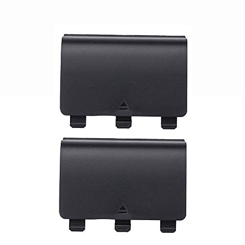 2X Battery Cover Door for Xbox One Wireless Controller(Black)