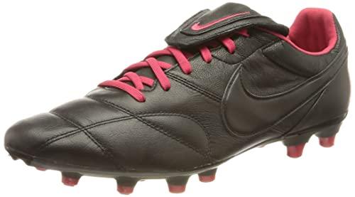 Nike The Premier II FG, Scarpe da Calcio, Black/Black-Very Berry, 42 EU