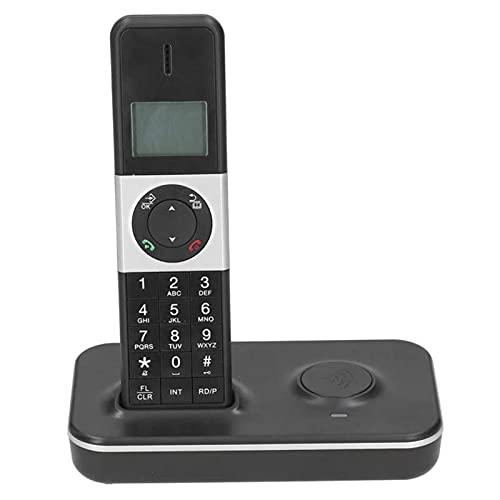 ELKeyko Teléfono Digital sin Cable Desktop Teléfono Fijo teléfono Fijo con llamantes IDENTIFICACIÓN Mostrar Manos Libres para la Oficina en casa Nosotros Enchufe