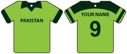 Ali Air Freshener Personalisierter Pakistan Cricket Shirt Auto Lufterfrischer
