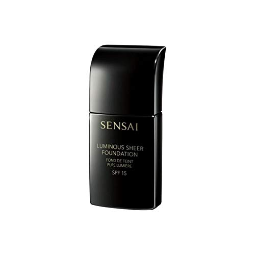 Kanebo Sensai Luminous Sheer Base de Maquillaje SPF 15 Tono 204.5 Warm Beige - 30 ml