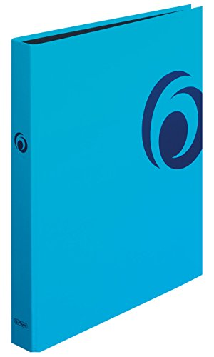 Herlitz Ringbuch maX.file Fresh A4, 1 Stück, 2 Ring-Kombi-Mechanik, 25 mm, türkis