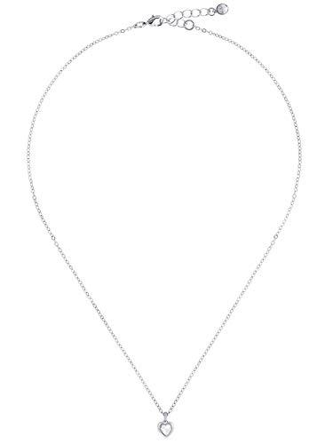 Ted Baker Women's Hannela Swarovski Crystal Heart Pendant - Silver/Crystal