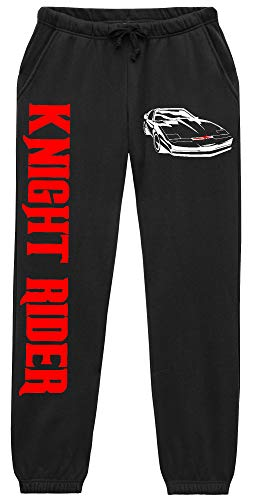 Uglyshirt89 Knight Rider Männer u. Herren Jogginghose | Kitt Michael David Hasselhoff Hose (M)
