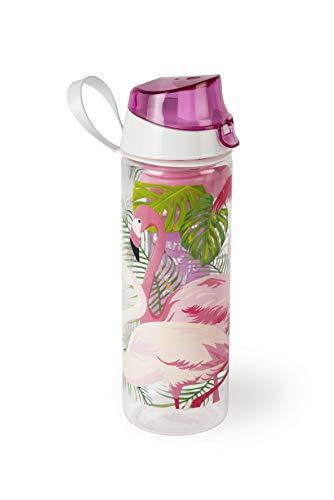 Excelsa Tropical Bottiglia con Infusore, Rosa, 750 ml