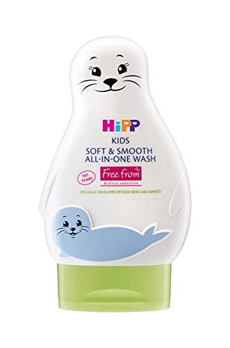 HiPP Kinderen zacht en glad alles-in-één wasafdichting 200ml (Pack van 6)