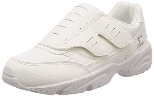 [ムーンスター] メンズ/レディース ワーク 一般・軽作業靴 グリーンスターシグマ200A 地球にも足にも優しいリサイクルシューズ ホワイト 29 cm 4E