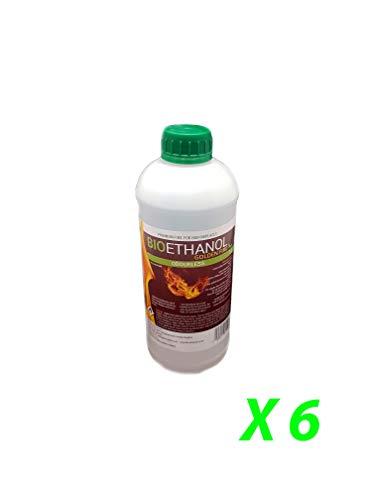 6L Bioethanol Fuel Liquid for Fires Fuel Golden Fire Premium Grade Quality, Clean Burn Bio Ethanol