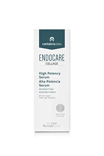 Endocare Cellage Alta Potencia Serum - Crema Antiarrugas, Anti-inflammaging, Antiglicación, Regeneración Antiedad Intensa, Ligera, Todo Tipo de Pieles, 30 ml