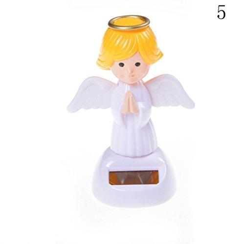 Féeries et merveilles Figurine Ange Solaire - HT 11 x 8 cm