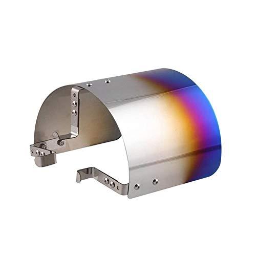 furong Sportluftfilter-Deckel Racing Kaltluftansaugsystem Kegel Praktische Verschleißfeste Zubehör (Color : Coloful)