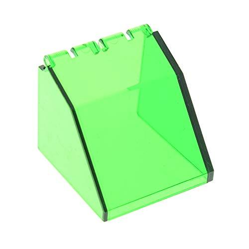 1 x Lego System Cockpit transparent dunkel grün 4 x 4 x 3 Windschutzscheibe Raumschiff Kanzel Kuppel Fenster Windscreen 6332 6150 2620