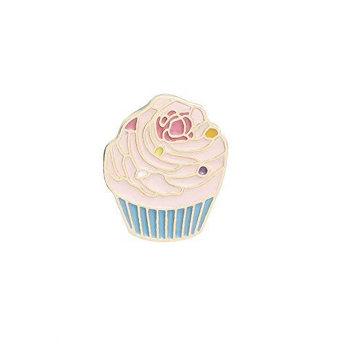N-K Mädchen brosche Cartoon Kaninchen Flasche Kuchen brosche Set Mantel Tasche Abzeichen Kinder schmuck Geschenk umweltfreundlich und praktisch Gut aussehend