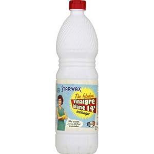 STARWAX Vinagre Blanco, De Alcohol 100% de Origen Vegetal, NC, 1 L