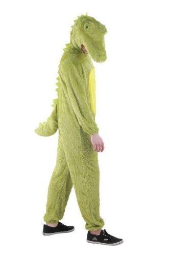 Foxxeo Krokodil Kostm fr Erwachsene Damen und Herren Tierkostm Overall Jumpsuit Grße XXL