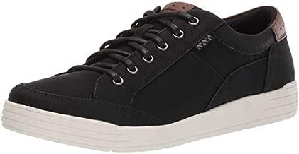 Nunn Bush Men's KORE City Walk Oxford Athletic Style Sneaker Lace Up Shoe, Black, 10 M US