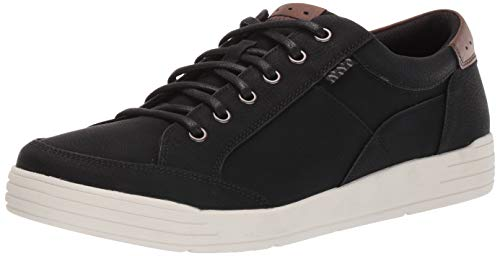 Nunn Bush Men's KORE City Walk Oxford Athletic Style Sneaker Lace Up Shoe, Black, 10.5 M US