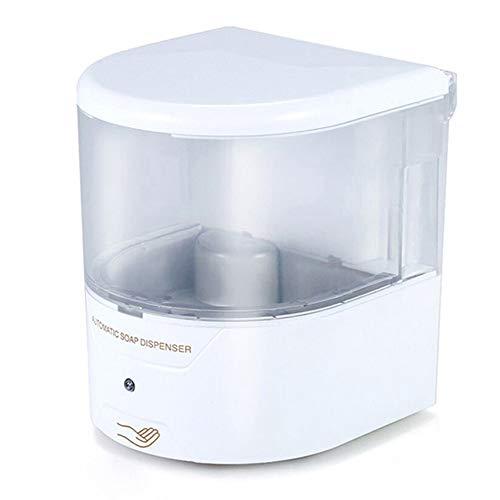 Dispensador automático de jabón Nanssigy, dispensador de jabón líquido montado en la pared, bomba de loción sin contacto para encimera, baño de 600 ml