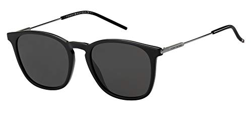 Tommy Hilfiger Gafas de Sol TH 1764/S Black/Grey 51/20/145 hombre