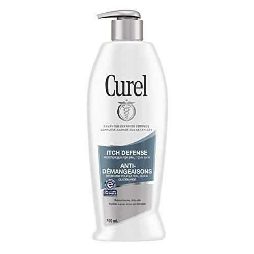 Curel Itch Defense Calming Moisturizer, 480 mL Body Lotion, with Advanced Ceramide Complex, Pro-Vitamin B5, Shea Butter…