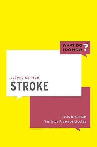 Stroke (What Do I Do Now) - http://medicalbooks.filipinodoctors.org