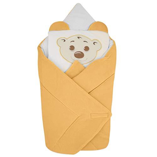 BlueberryShop manta de terciopelo con almohada Saco de dormir para bebés recién...