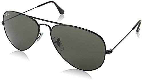 RB3025 Aviator Classic Sunglasses, Black/Grey, 58 mm