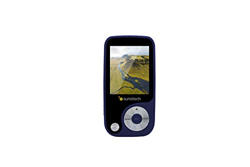 Oferta de Sunstech Thorn - Reproductor de MP3 (4 GB de capacidad) color azul
