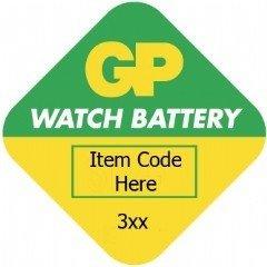 GP Batteries Ukdapper Piles bouton à oxyde d'argent GP395–A1