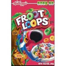 Kelloggs Froot Loops Sweetened Multi-Grain Japan Maker New Cereal Ounce Manufacturer direct delivery 17
