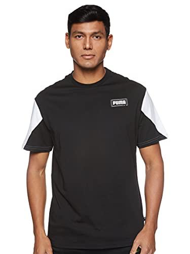 PUMA Rebel Advanced tee Camiseta, Hombre, Black, XL