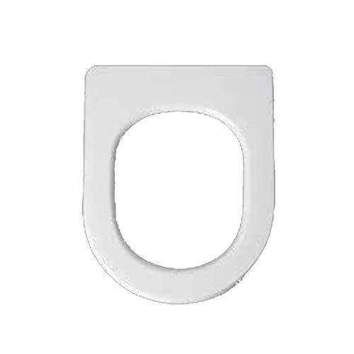 Copriwater dedicato per Serie Ydra Pozzi Ginori in Resina Poliestere colata Bianco Lucido - Coperchio Sedile tavoletta per WC - Massima qualita' Garantita