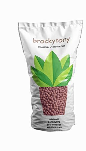 brockytony 4-8 mm. (Pflanzton, Pflanzgranulat, Blähton) 2 Liter. Taupe. BT407Y2