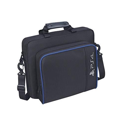 Suszian Host-Tasche Aufbewahrungstasche für PS4/PS4 Pro Slim Game Sytem Tasche für PlayStation 4 Konsole Schutz Schulter Tragetasche Handtasche