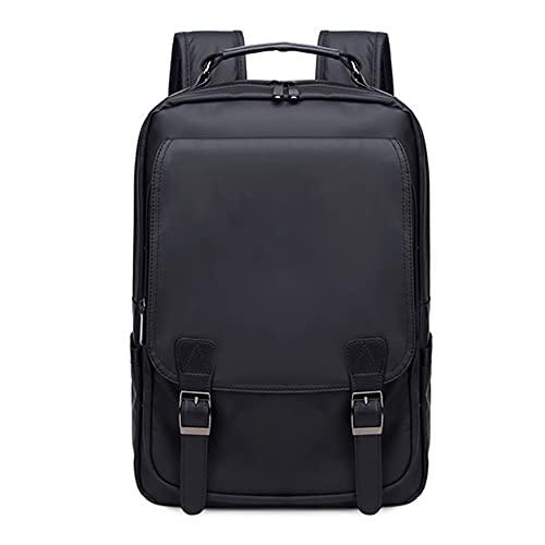 15.6En la mochila de nylon de la computadora portátil, mochila de la computadora de la computadora resistente al agua, para viajes / casual / escuela / senderismo Regalo de regalo Mochila,A,One Size