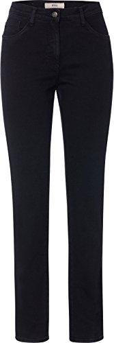 BRAX Mary Crystal Romance Damenjeans: Slim Fit Jeans im 5-Pocket-Style, Schwarz (Clean Black Black 2), Gr. W38/L32 (Herstellergröße: 48)