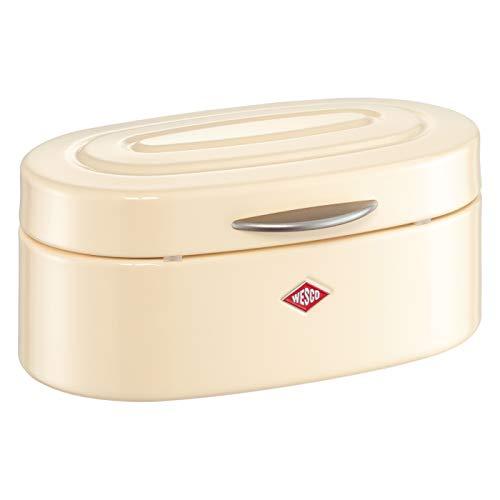 WESCO Mini Elly Boîte de Rangement en Acier Amande 22,5 x 13,6 x 10 cm