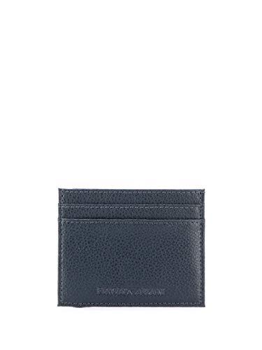 Emporio Armani Luxury Fashion Hombre Y4R236YEW1E80033 Azul Tarjetero | Otoño-Invierno 19