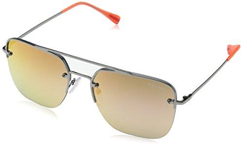 Prada SPORT Herren 0PS54SS 5AV6U0 59 Sonnenbrille, Grau (Gunmetal/Greymirrrosegoldgradoran)