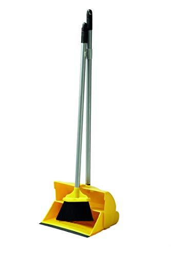 Ramon Hygiene HB24Y Kehrschaufel mit langem Stiel, Gelb, 6 Stück
