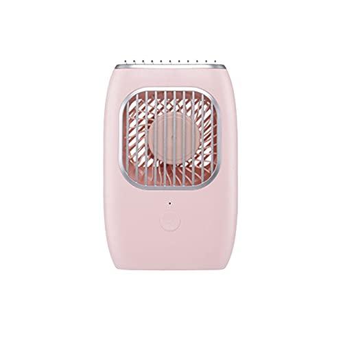 ZENING Ventilador perezoso para colgar el cuello, ventilador portátil, ventilador de refrigeración portátil, aire acondicionado de plástico