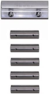 Treba Connector Set for Aluminium and Stainless Steel Rails, Set of 1/130.08.0046VS1