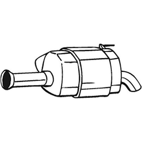 Silencieux arrière 165-023