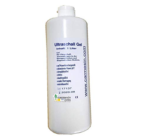 12 x Ultraschall Gel 1000 ml Ultraschallgel Gleitgel Sonogel deutsche Produkt