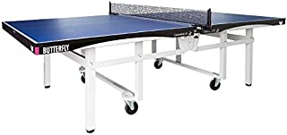 Butterfly Centrefold 25 Table Tennis Table | Professional Ping Pong Table | 25mm Indoor Folding Ping Pong Table | Strong Frame | Professional Ping Pong Net Included | 5 Year Warranty