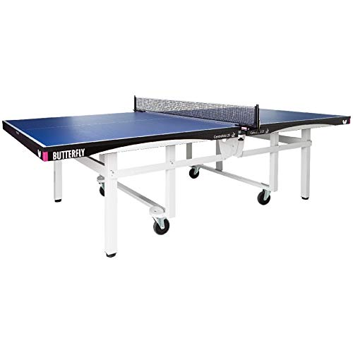 Butterfly Centrefold 25 Table Tennis Table | Professional Ping Pong Table | 25mm Indoor Wheelchair Accessible Ping Pong Table | Strong Frame | Professional Ping Pong Net Included | 5 Year Warranty