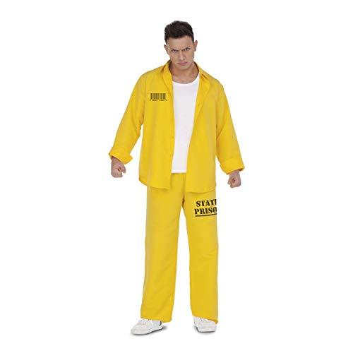 My Other Me Disfraz Prisionero Amarillo Hombre - M / L