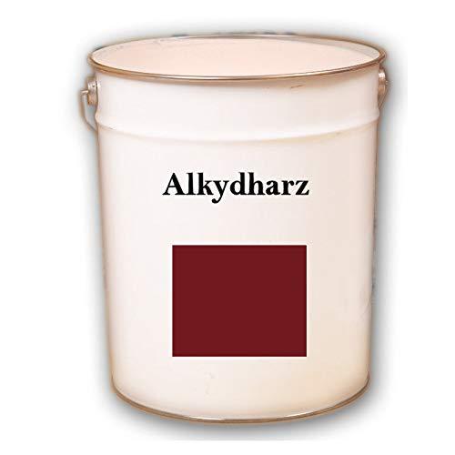 Hauptversand24 2,5 kg RAL 3011 schwedenrot rot Fassadenbeschichtung matt Fassadenfarbe Außenfarbe UV-Beständig